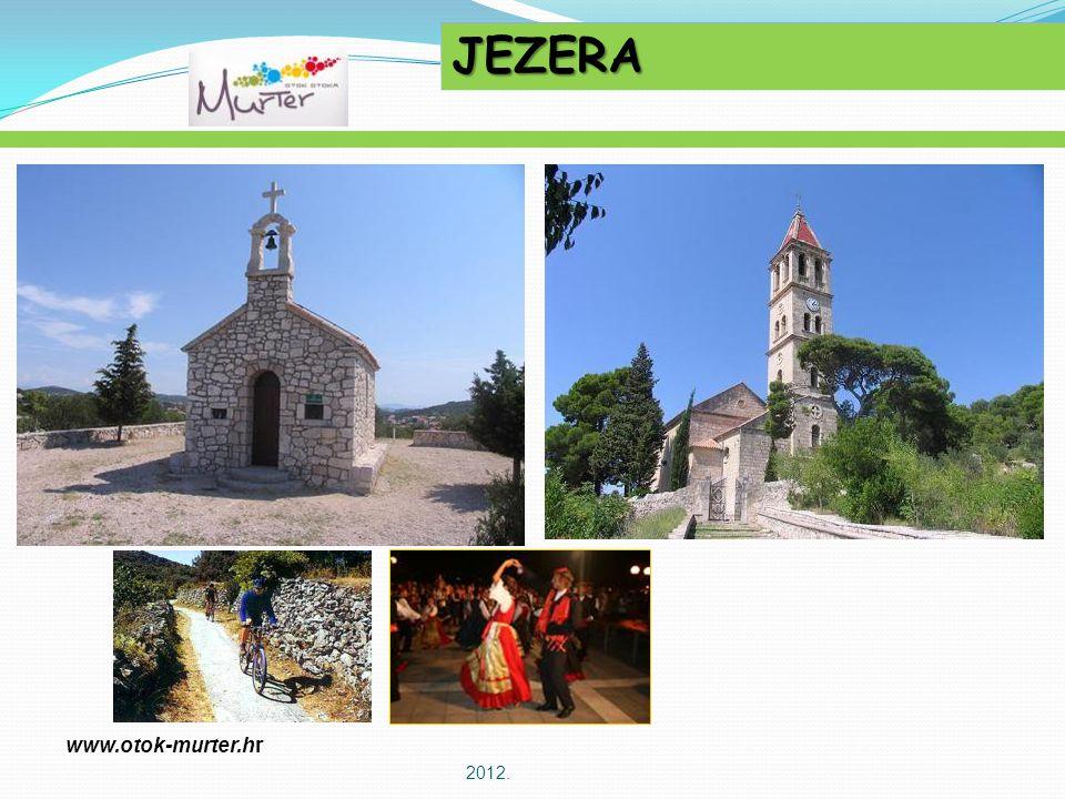 2012. JEZERA www.otok-murter.hr