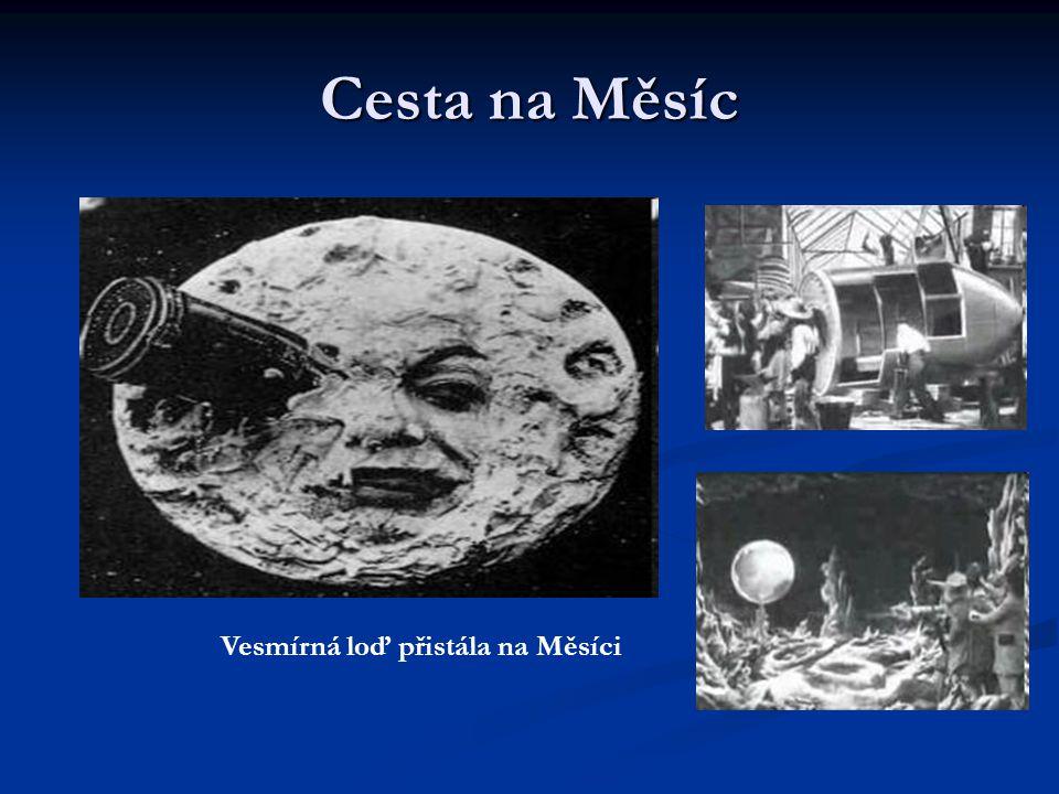 Cesta na Měsíc Vesmírná loď přistála na Měsíci