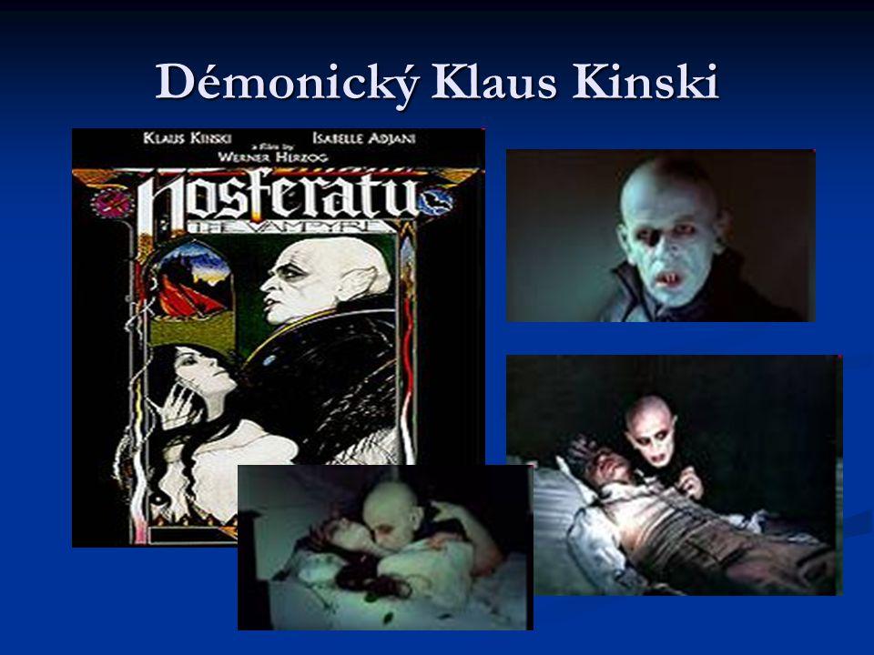 Démonický Klaus Kinski