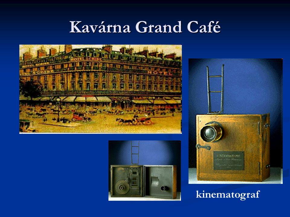 Kavárna Grand Café kinematograf