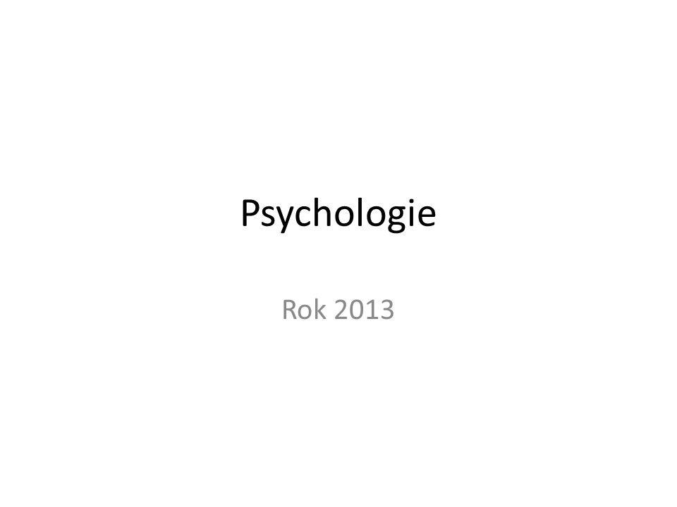 Vybrané psychologické směry XX.století Behaviorismus (S +R psychologie) Zakladatelem BP je J.