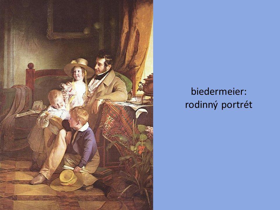 biedermeier: rodinný portrét
