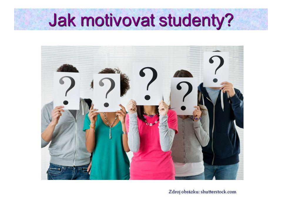 Jak motivovat studenty? Zdroj obrázku: shutterstock.com