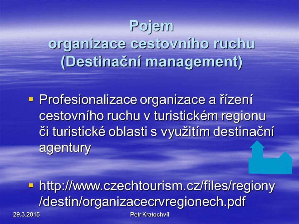 Profesionalizace řízení a organizace – DM 29.3.2015Petr Kratochvíl