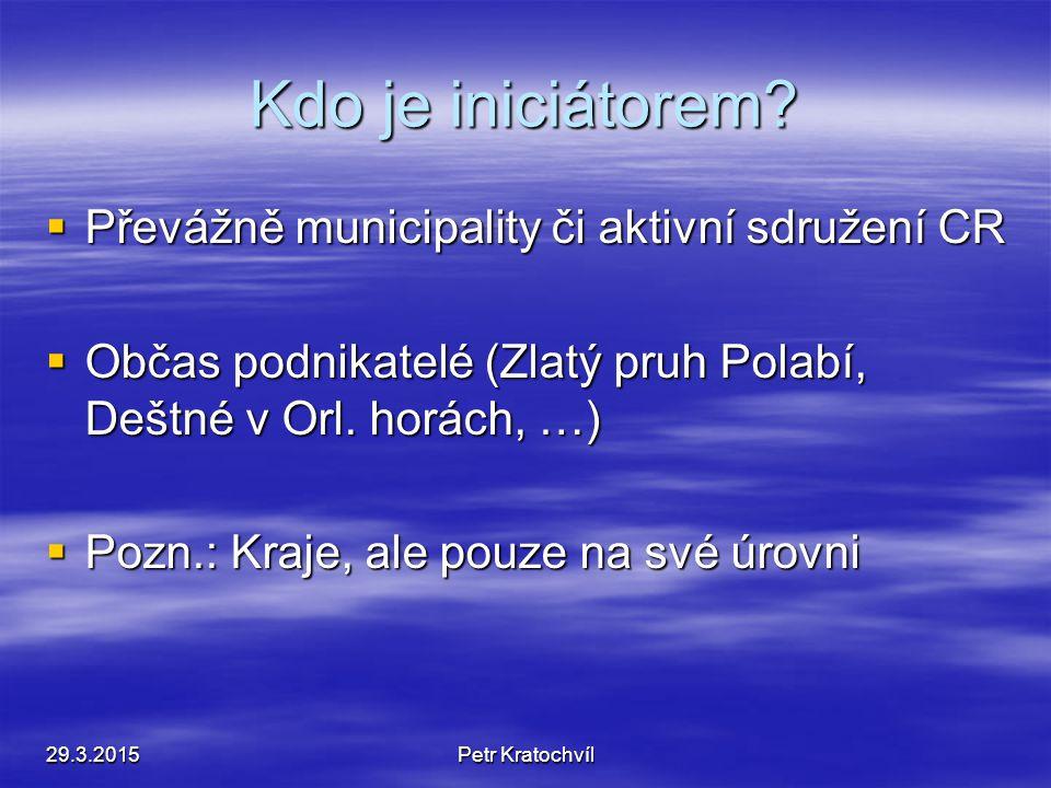 Příklad z Těšínského Slezska 29.3.2015Petr Kratochvíl