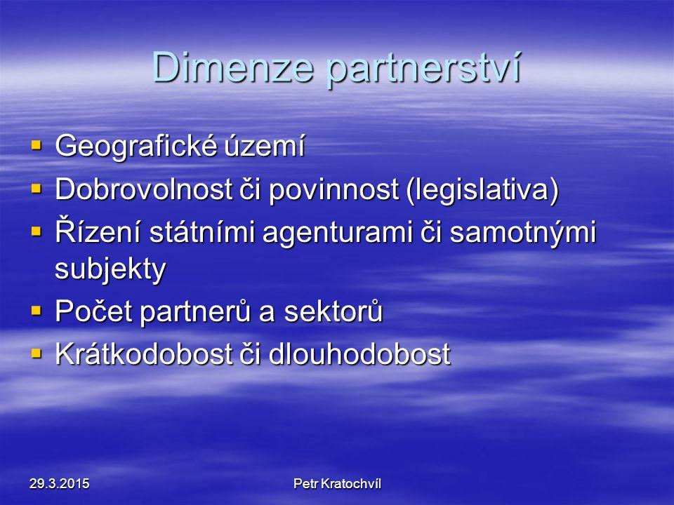 Partnerství  Zmírnění protichůdných zájmů návštěvníků a hostitelské komunity  Nejen veřejný a soukromý sektor  Také obyvatelé, neziskové organizace
