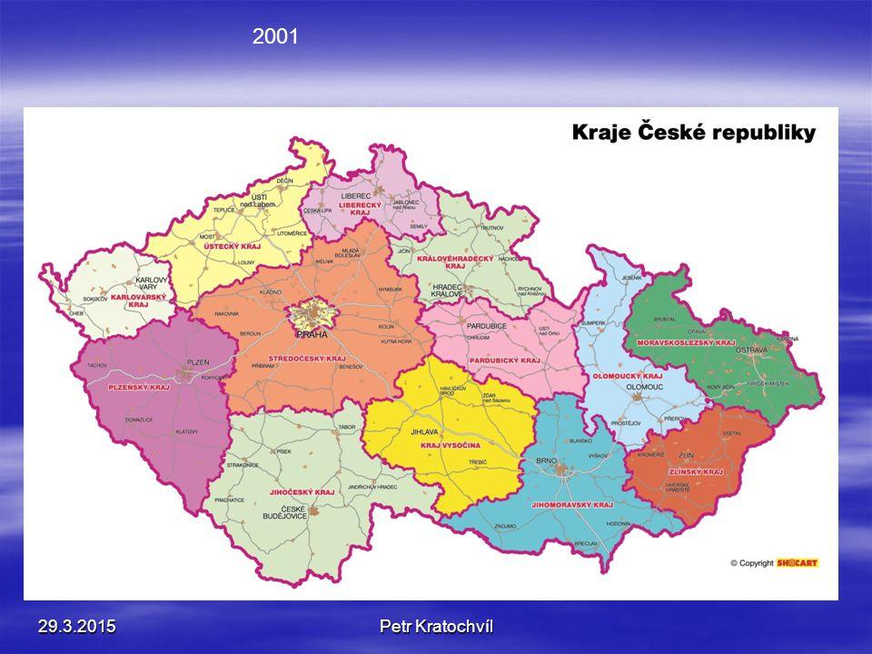 29.3.2015Petr Kratochvíl 2001