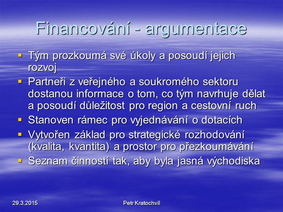 Objasnění financování - 2  Posoudit komisí činnosti, zvážit úplnost, rozšíření v budoucnu, změny rozpočtu.  Promítnout výsledky do rozpočtů měst, ob
