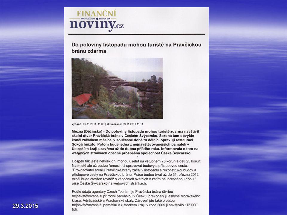 Mediální analýza Souhrn za období září 2004 – únor 2005 : Celostátní média lákající k návštěvě regionů : ČRo 1 – Radiožurnál – 147 pořadů Česká televi