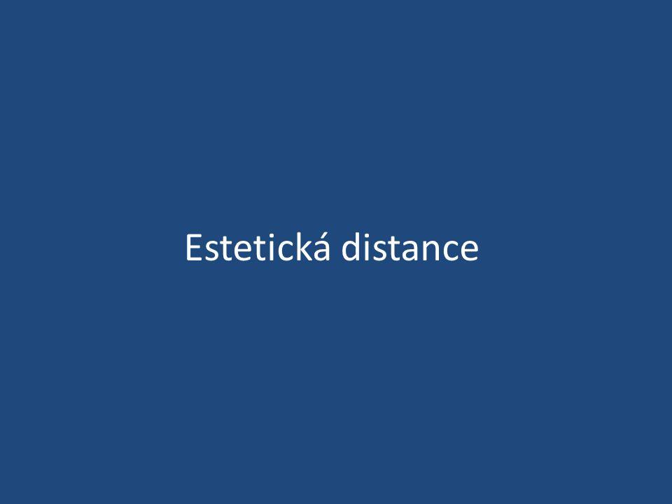 Estetická distance