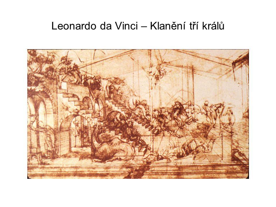 Leonardo da Vinci – Klanění tří králů