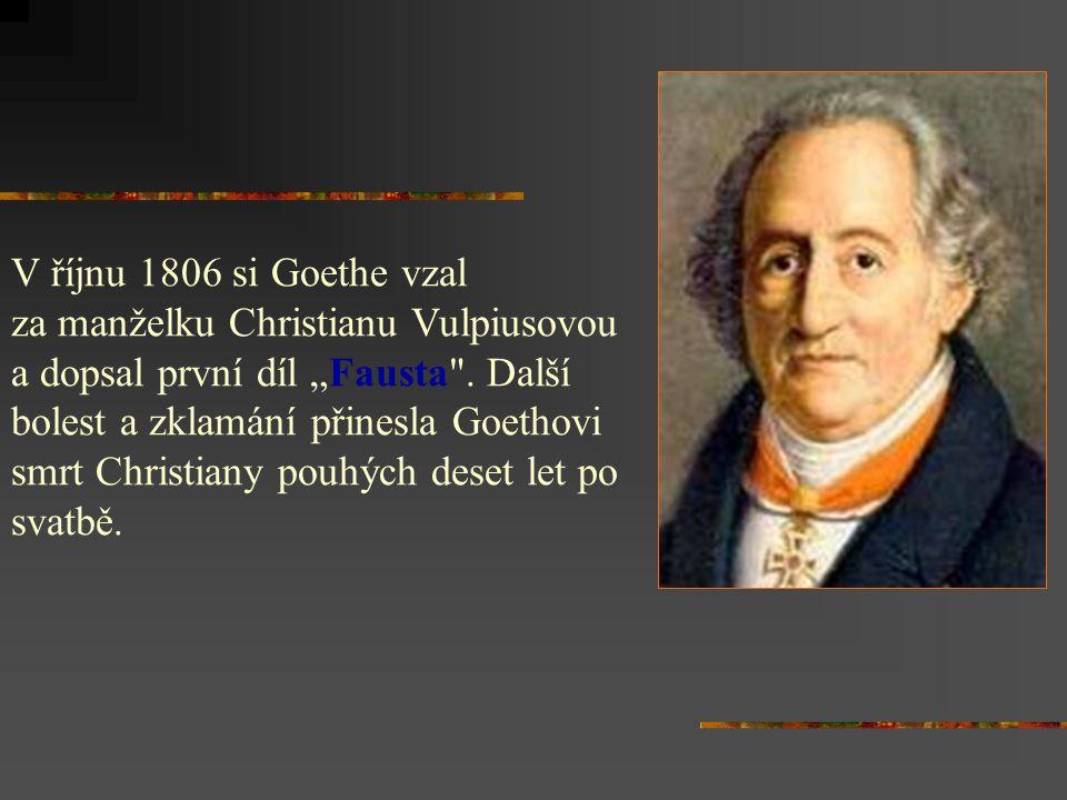 - narodil se ve Frankfurtu nad Mohanem - zemřel ve Výmaru -vystudoval práva a přírodní vědy - působil jako právník, ministr a rádce výmarského vévody Karla Augusta