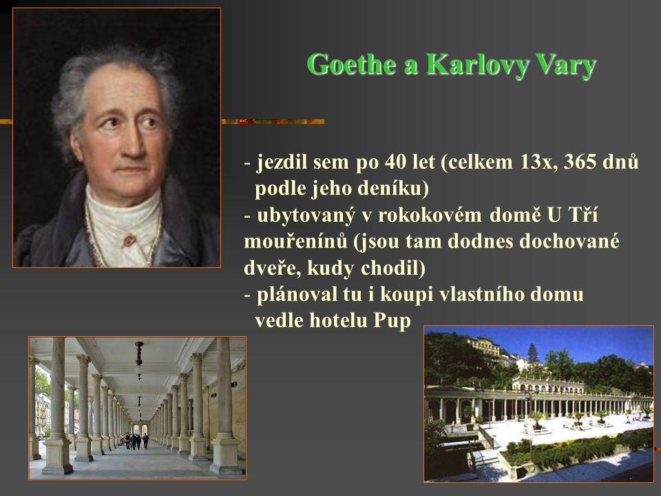 """V říjnu 1806 si Goethe vzal za manželku Christianu Vulpiusovou a dopsal první díl """"Fausta ."""