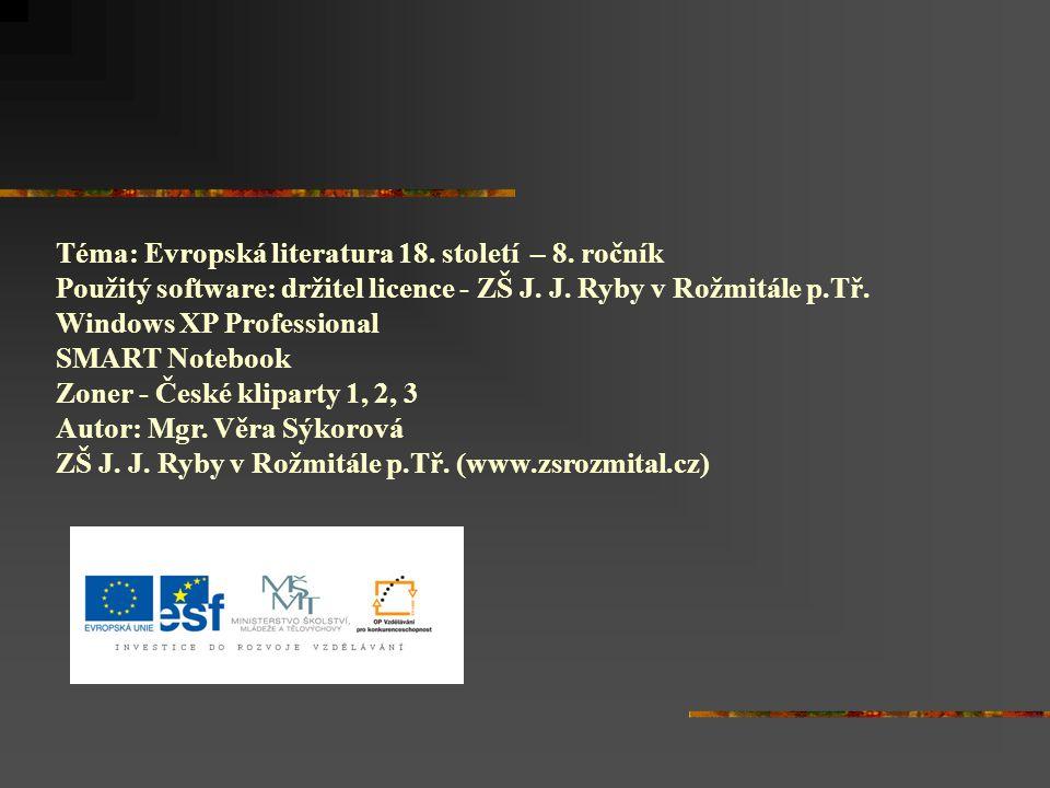 Práce s textem: čítanka str.