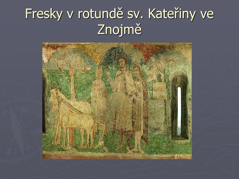 Fresky v rotundě sv. Kateřiny ve Znojmě
