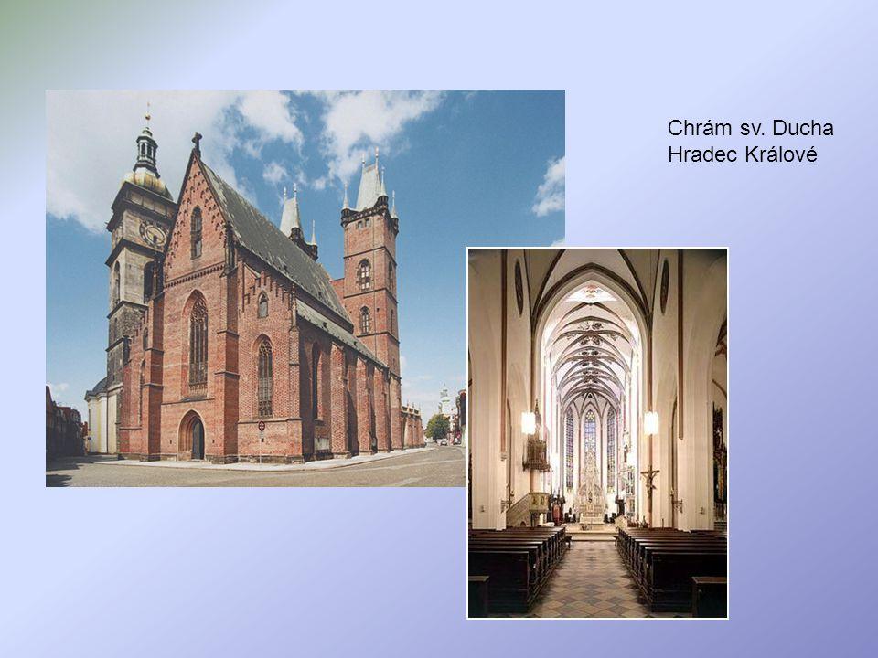 Chrám sv. Ducha Hradec Králové