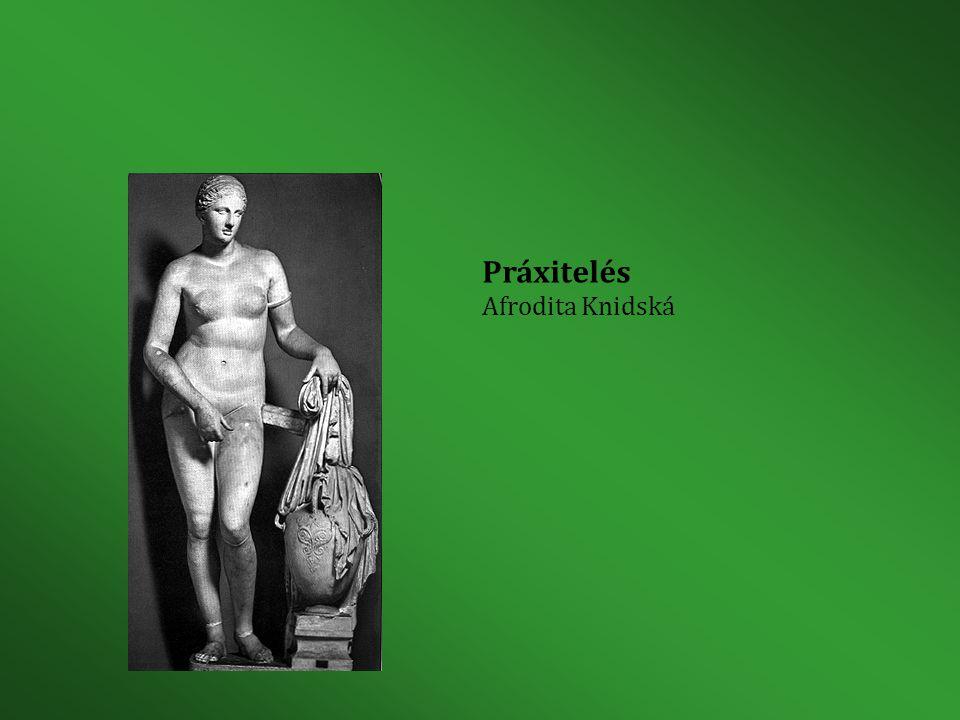 Práxitelés Afrodita Knidská