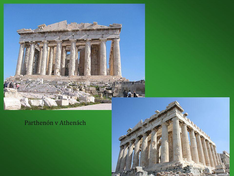 Parthenón v Athenách