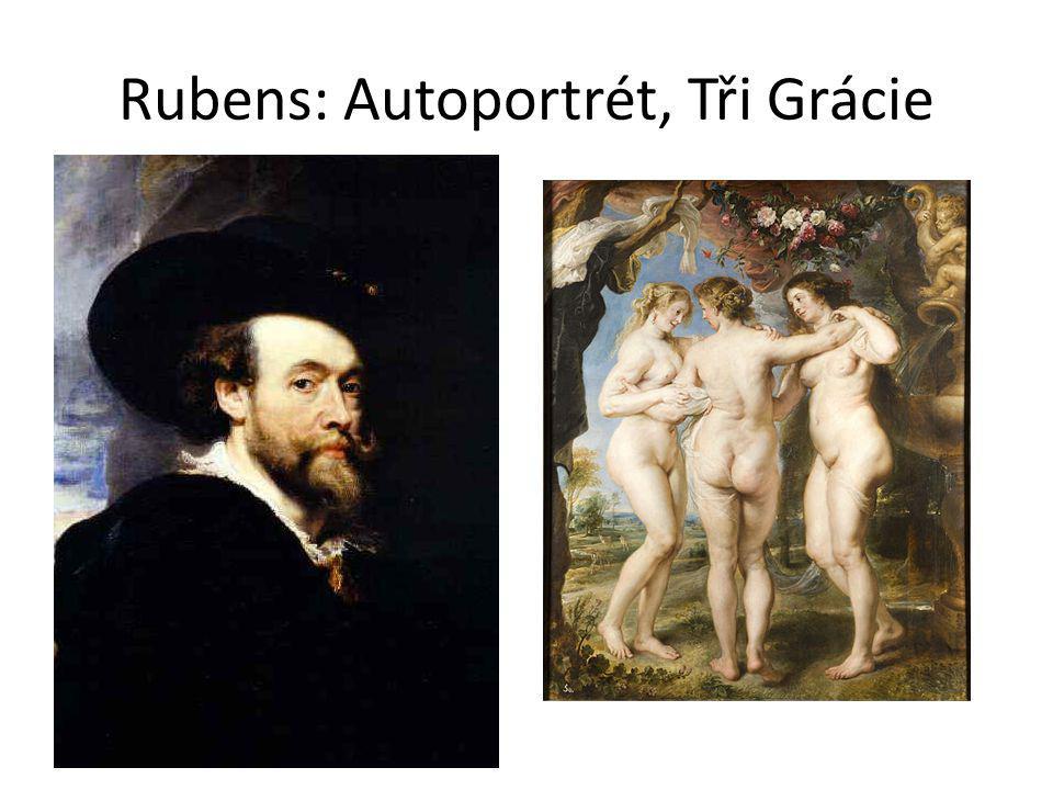 Rubens: Autoportrét, Tři Grácie