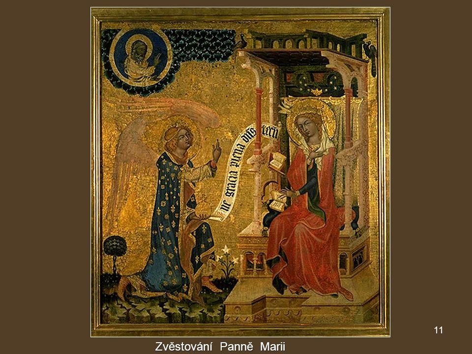 11 Zvěstování Panně Marii