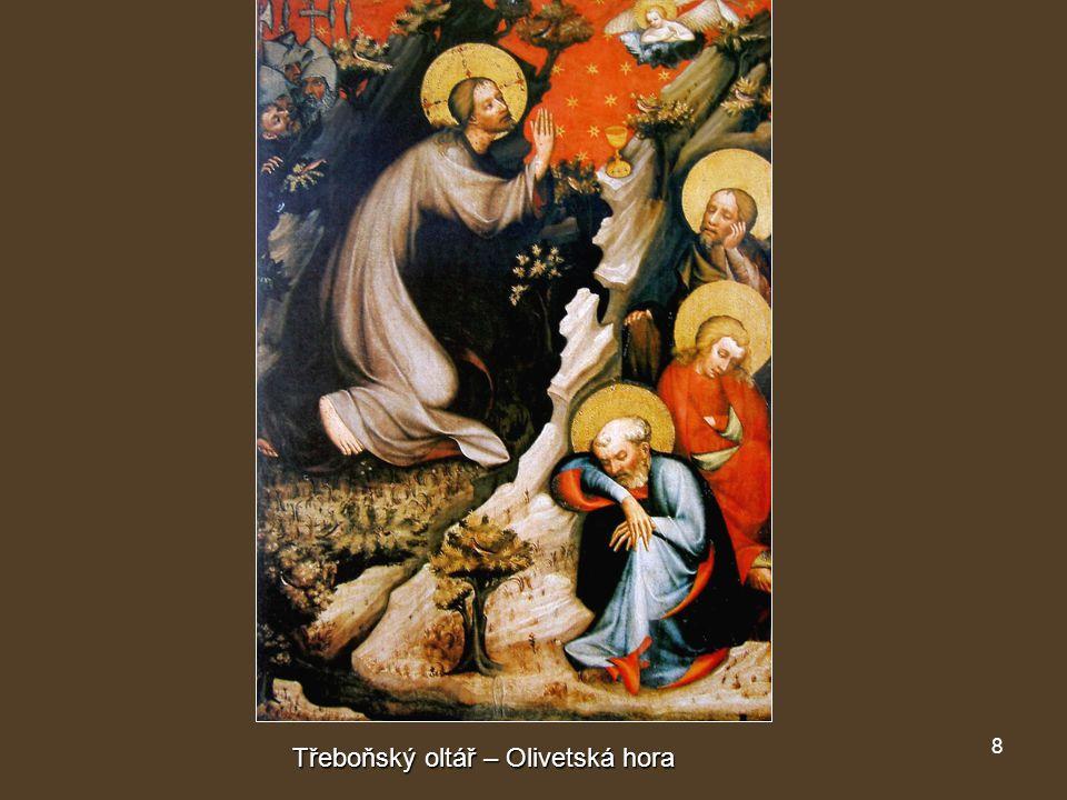8 Třeboňský oltář – Olivetská hora