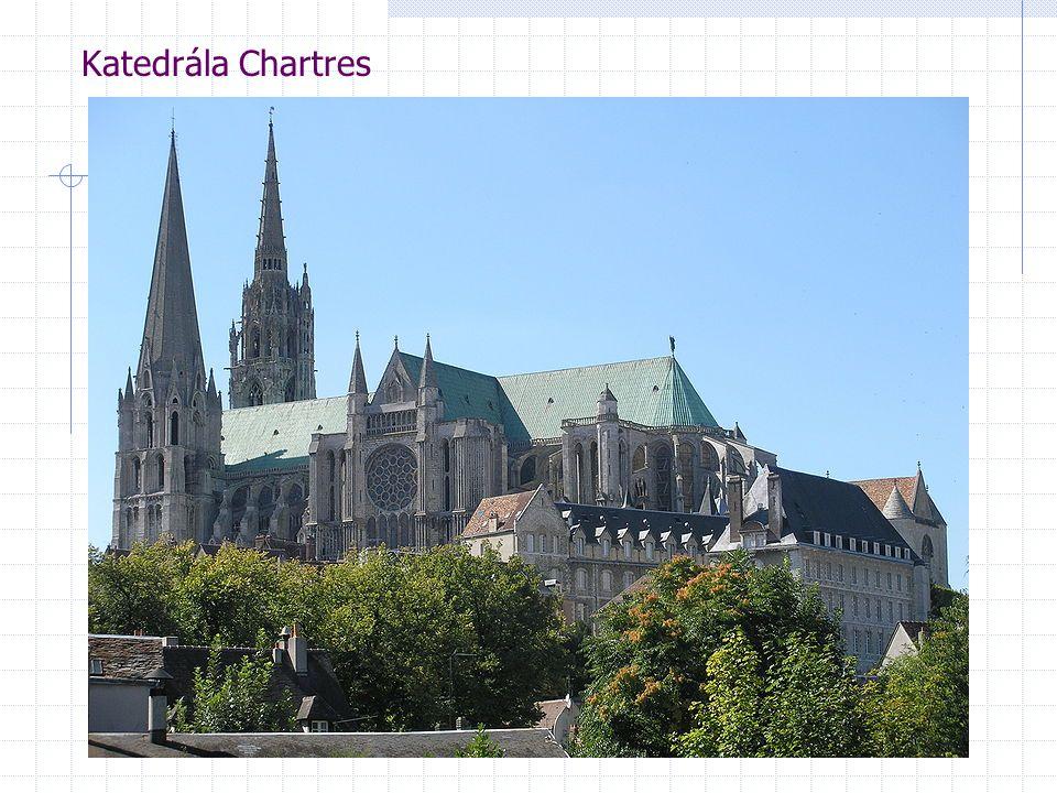 Katedrála Chartres