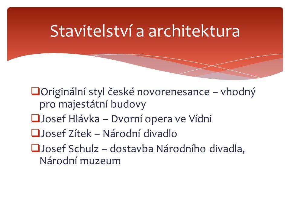  Národ potřebuje sebevědomí a reprezentaci – zřizování nových pomníků  Josef Václav Myslbek – socha sv.