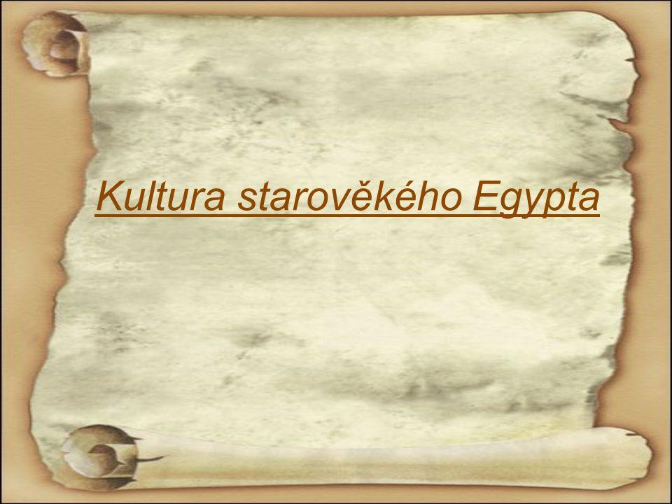 Kultura starověkého Egypta
