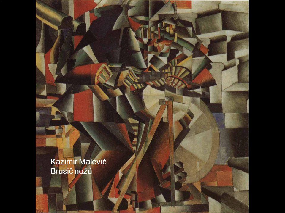 Kazimir Malevič Brusič nožů