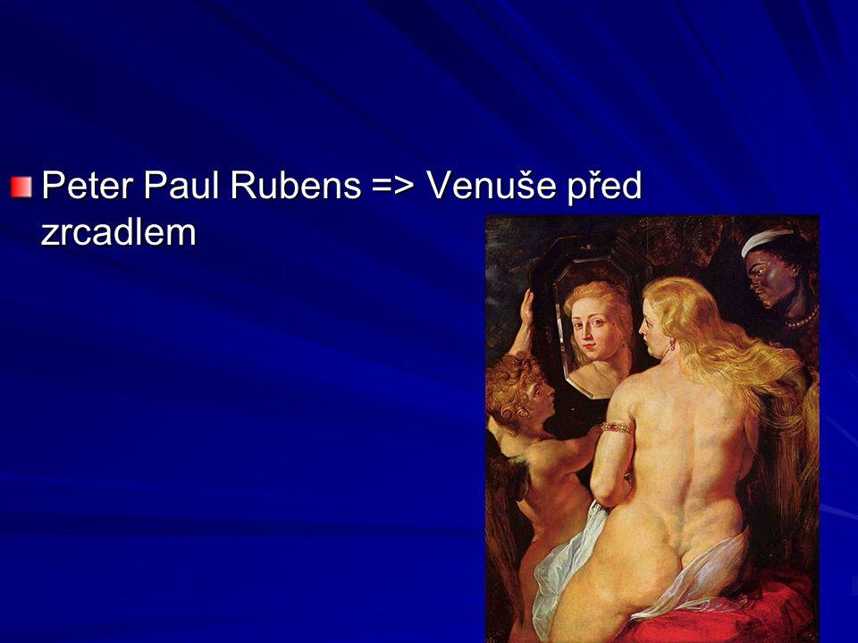 Peter Paul Rubens => Venuše před zrcadlem