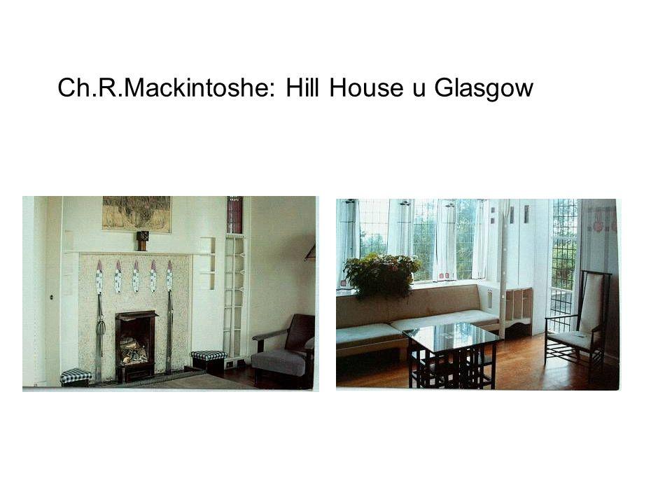 Ch.R.Mackintoshe: Hill House u Glasgow