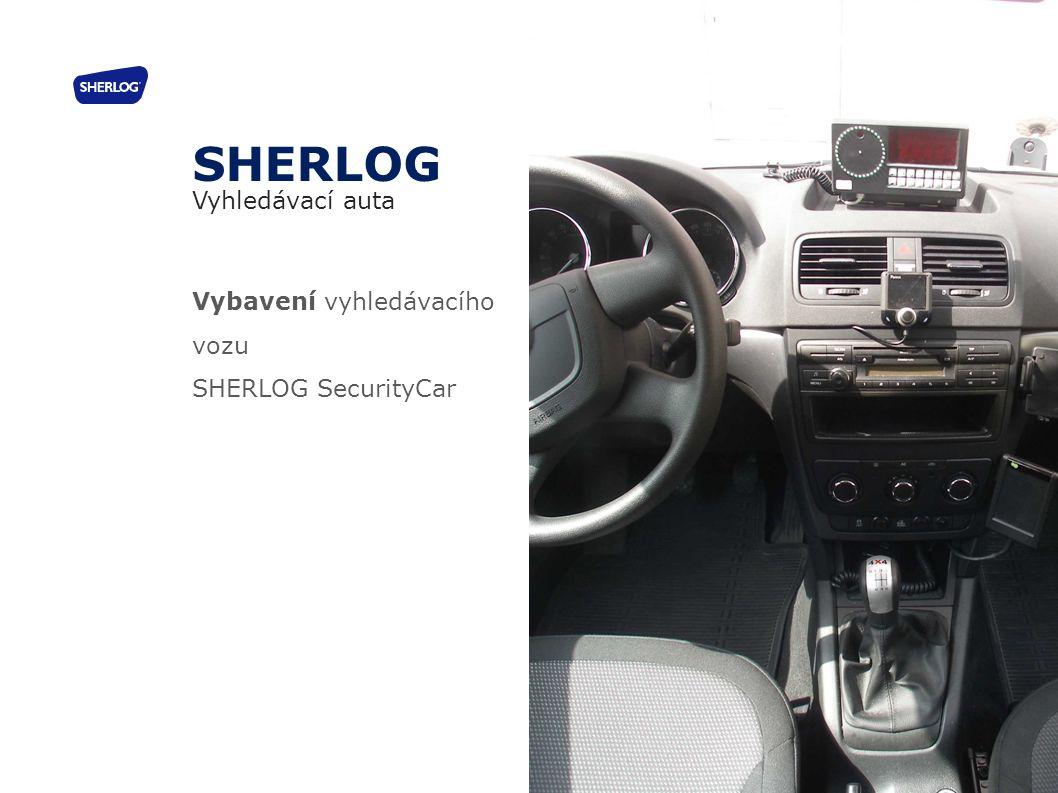 Vybavení vyhledávacího vozu SHERLOG SecurityCar SHERLOG Vyhledávací auta 20