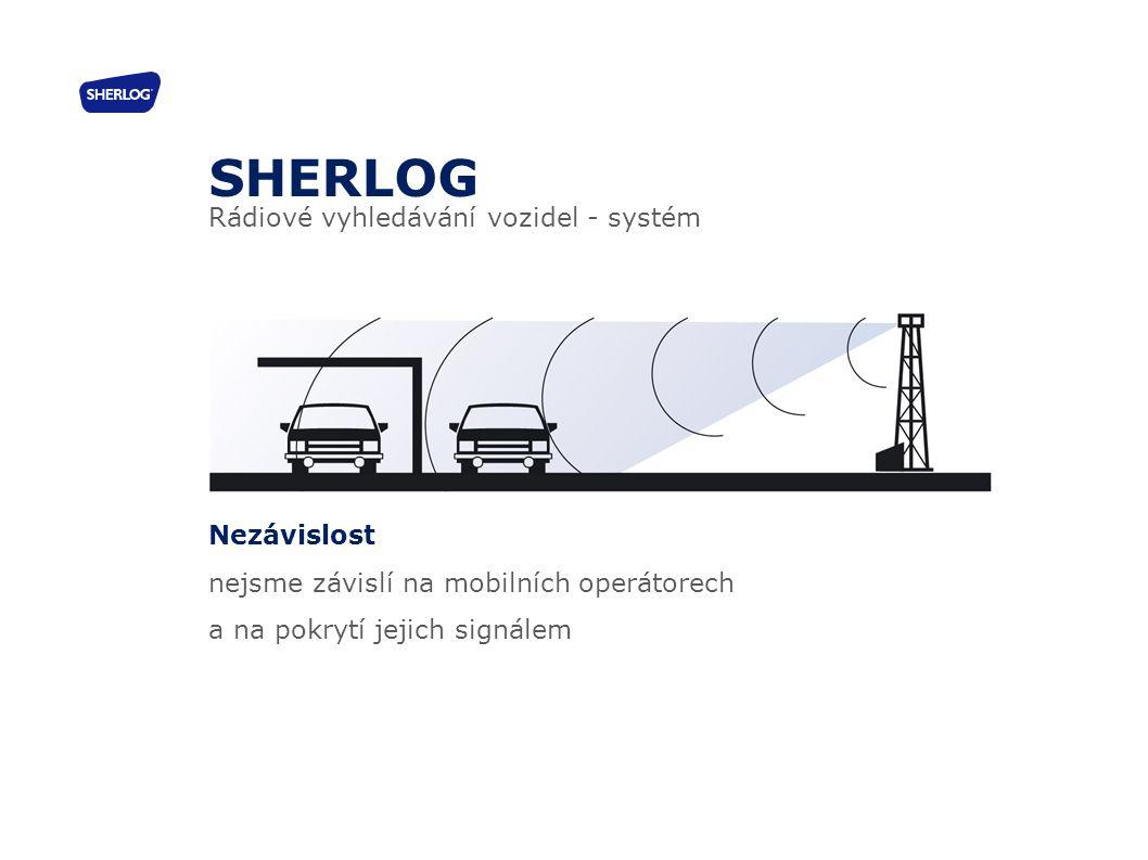 30 Nezávislost nejsme závislí na mobilních operátorech a na pokrytí jejich signálem SHERLOG Rádiové vyhledávání vozidel - systém