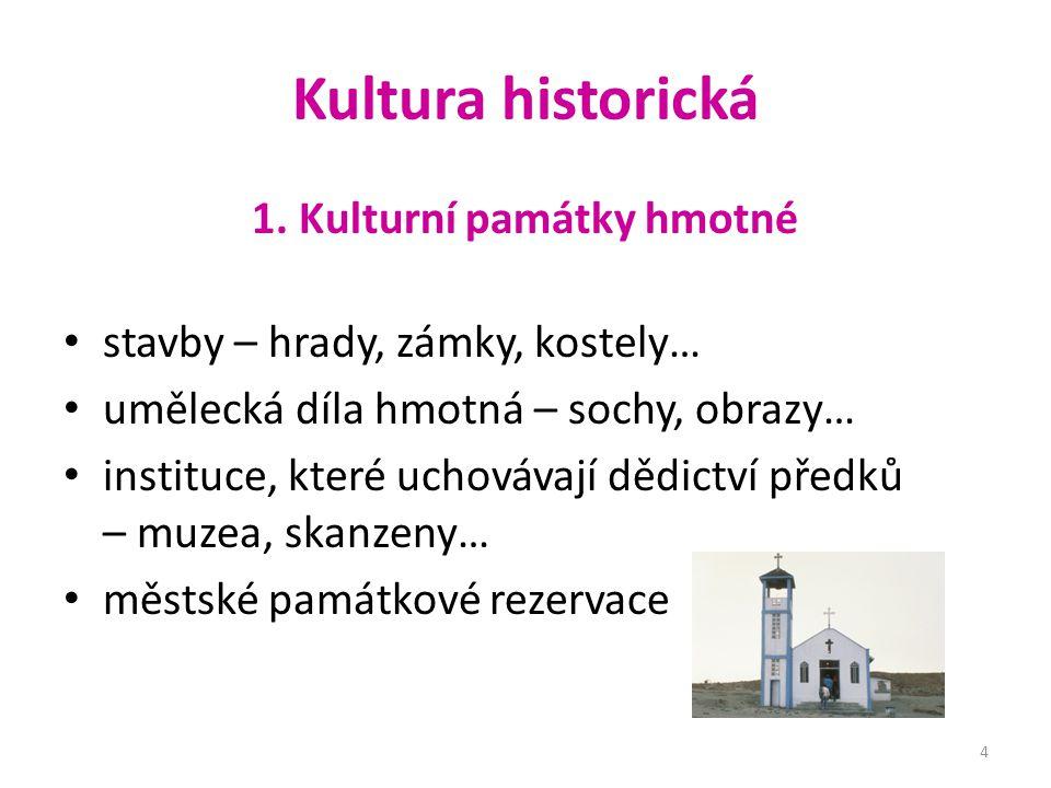 Kultura historická 1.