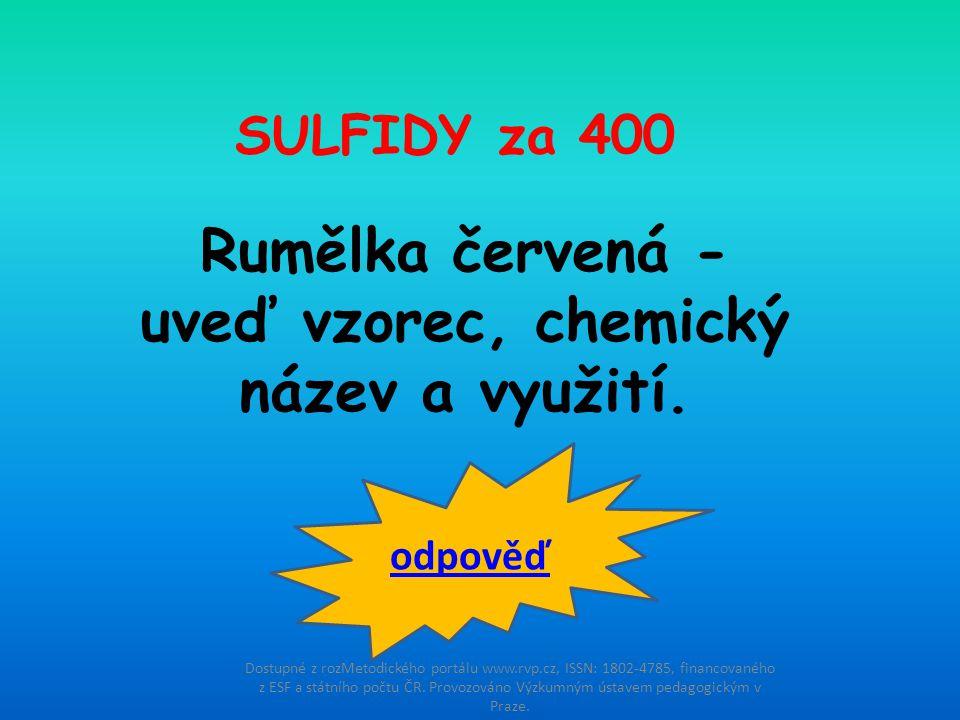 Dostupné z rozMetodického portálu www.rvp.cz, ISSN: 1802-4785, financovaného z ESF a státního počtu ČR.