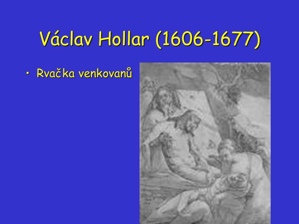 Václav Hollar (1606-1677) Rvačka venkovanůRvačka venkovanů