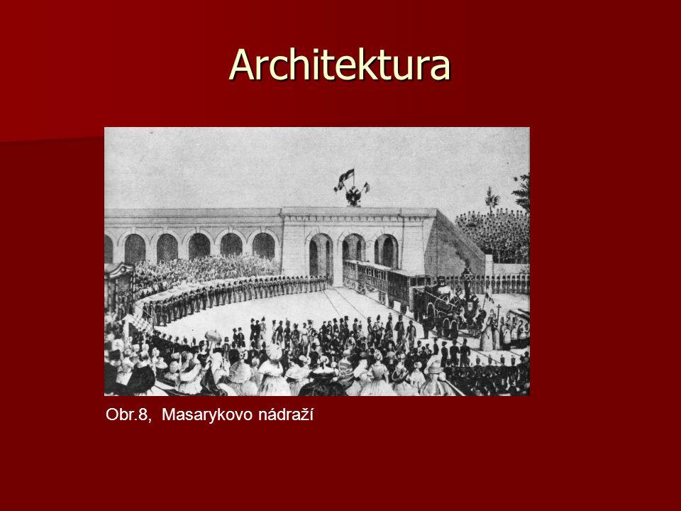 Architektura Obr.8, Masarykovo nádraží