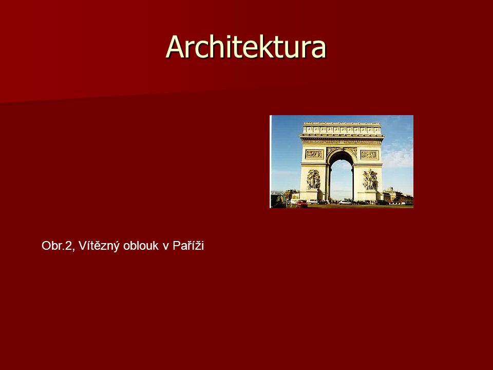 Architektura Obr.2, Vítězný oblouk v Paříži