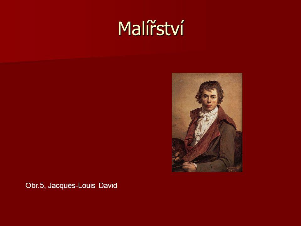 Malířství Obr.5, Jacques-Louis David