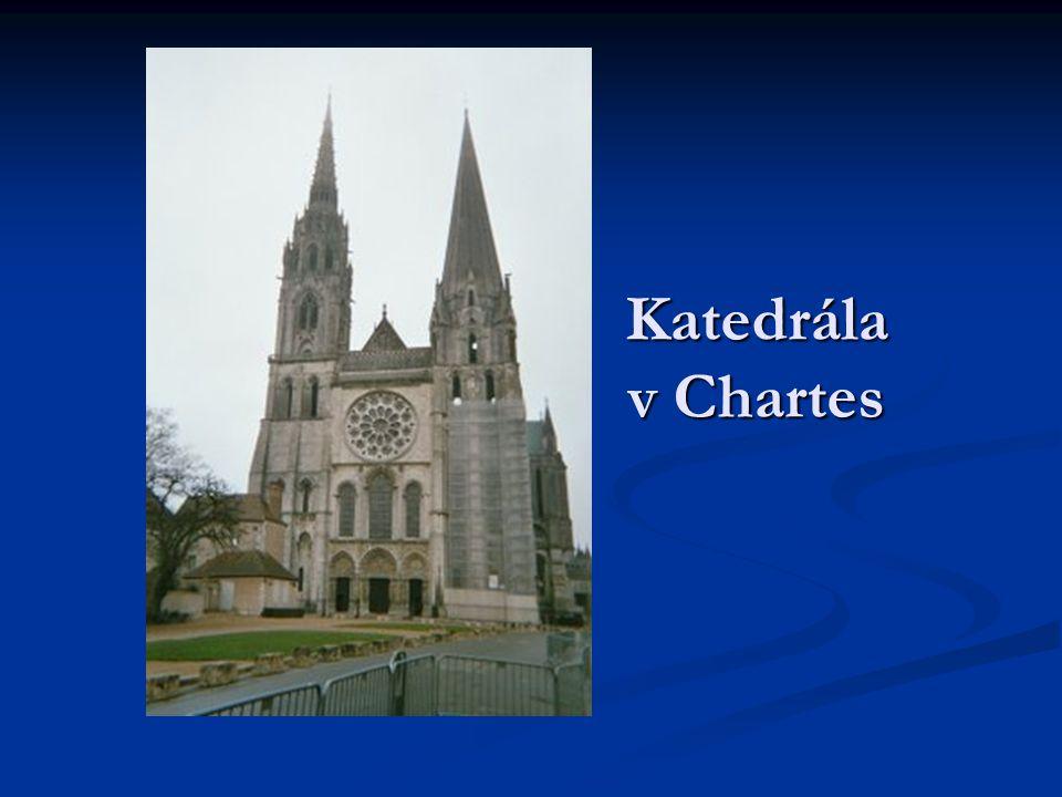 Katedrála v Chartes