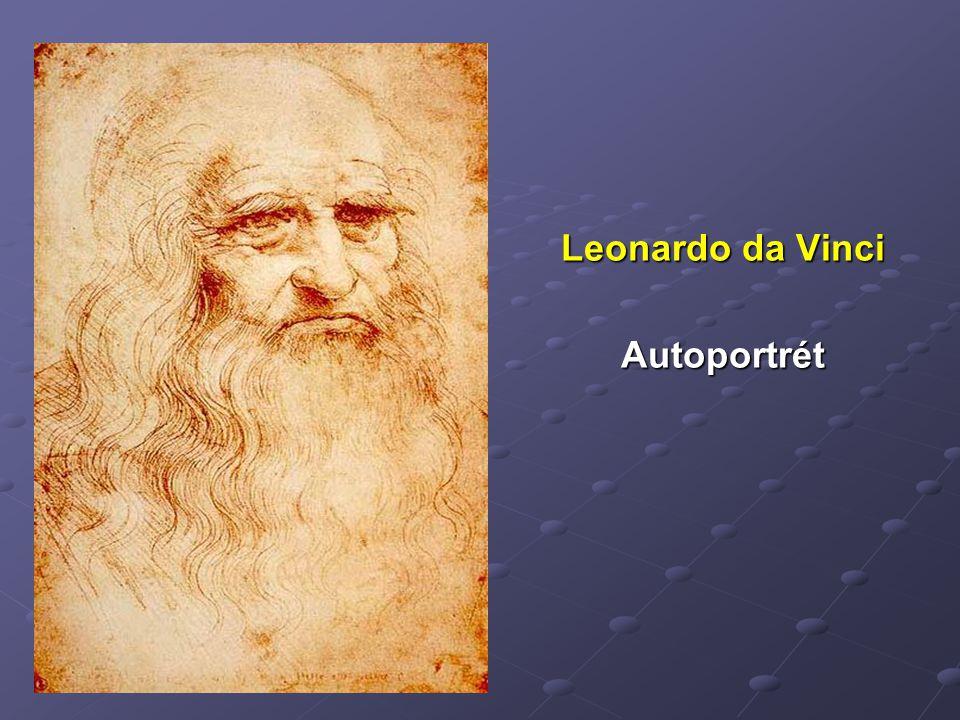 Leonardo da Vinci Autoportrét