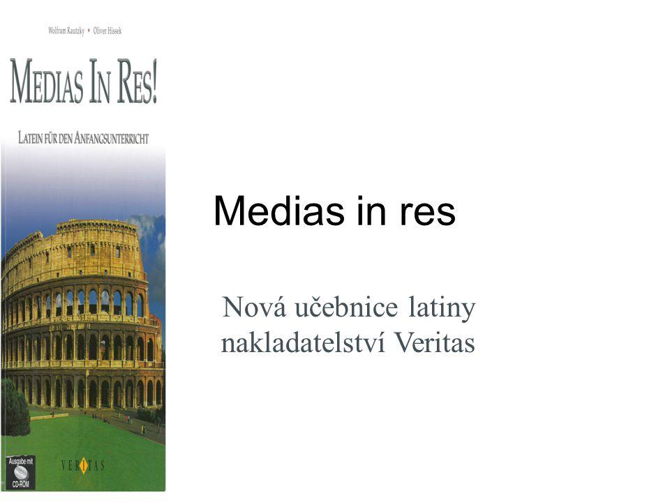 Medias in res Nová učebnice latiny nakladatelství Veritas