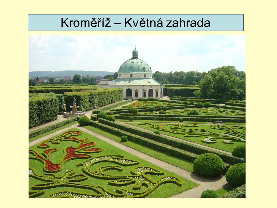 Kroměříž – Květná zahrada
