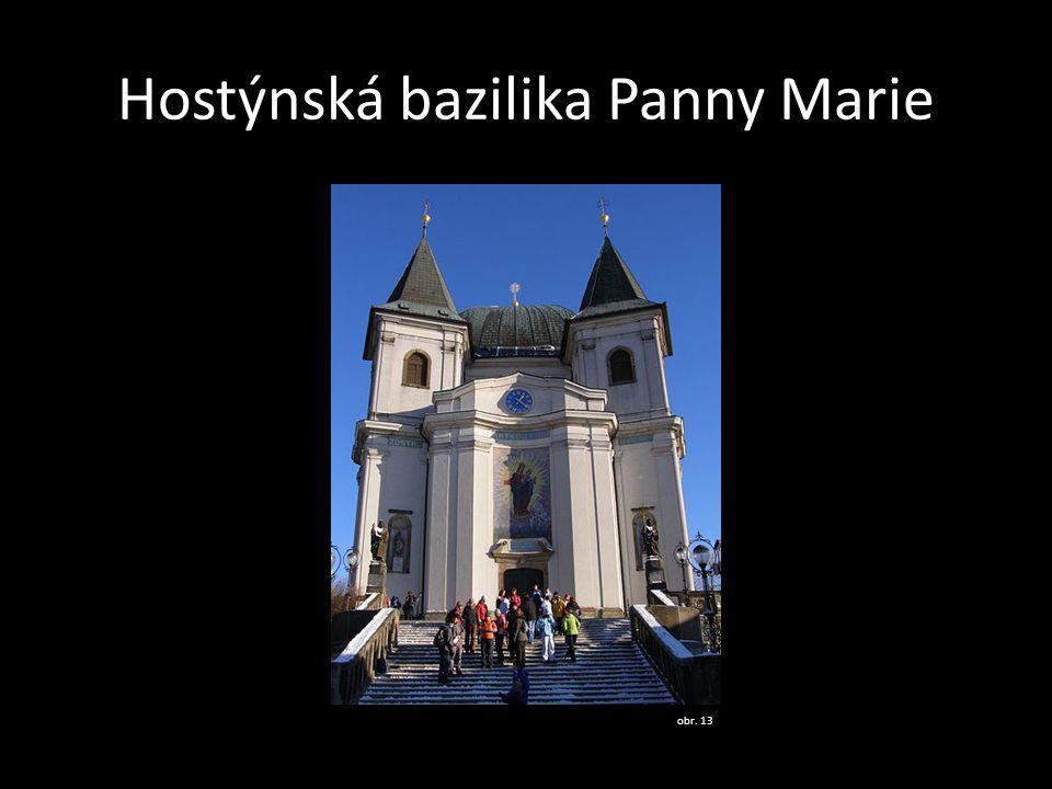 Hostýnská bazilika Panny Marie obr. 13