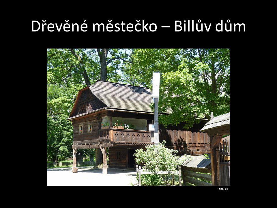 Dřevěné městečko – Billův dům obr. 18