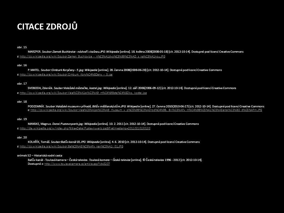 CITACE ZDROJŮ obr. 15 MARZPER. Soubor:Zamek Buchlovice - nádvoří s kašnou.JPG: Wikipedie [online]. 18. května 2008(2008-05-18) [cit. 2012-10-14]. Dost