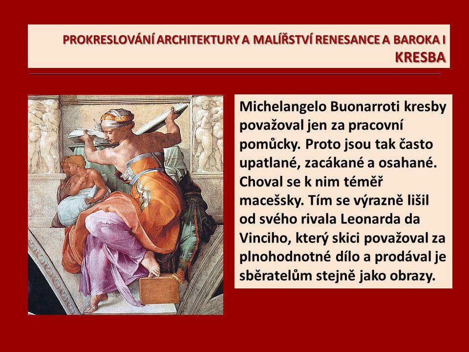 Michelangelo: Studie k Sibyle; modelem nebyla žena, ale muž.