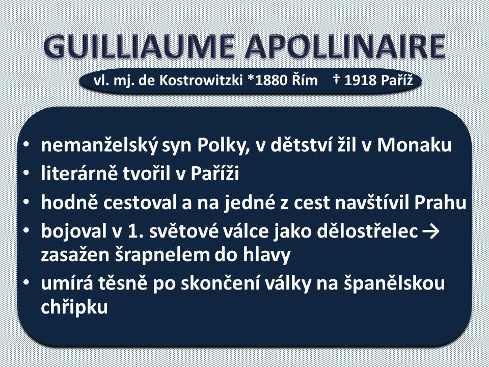 nemanželský syn Polky, v dětství žil v Monaku literárně tvořil v Paříži hodně cestoval a na jedné z cest navštívil Prahu bojoval v 1.