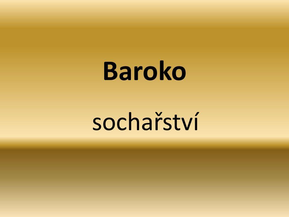 Baroko sochařství
