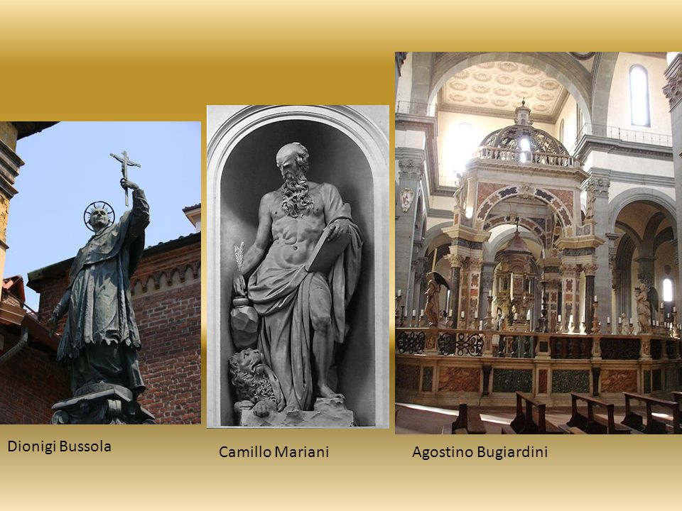 Dionigi Bussola Camillo MarianiAgostino Bugiardini